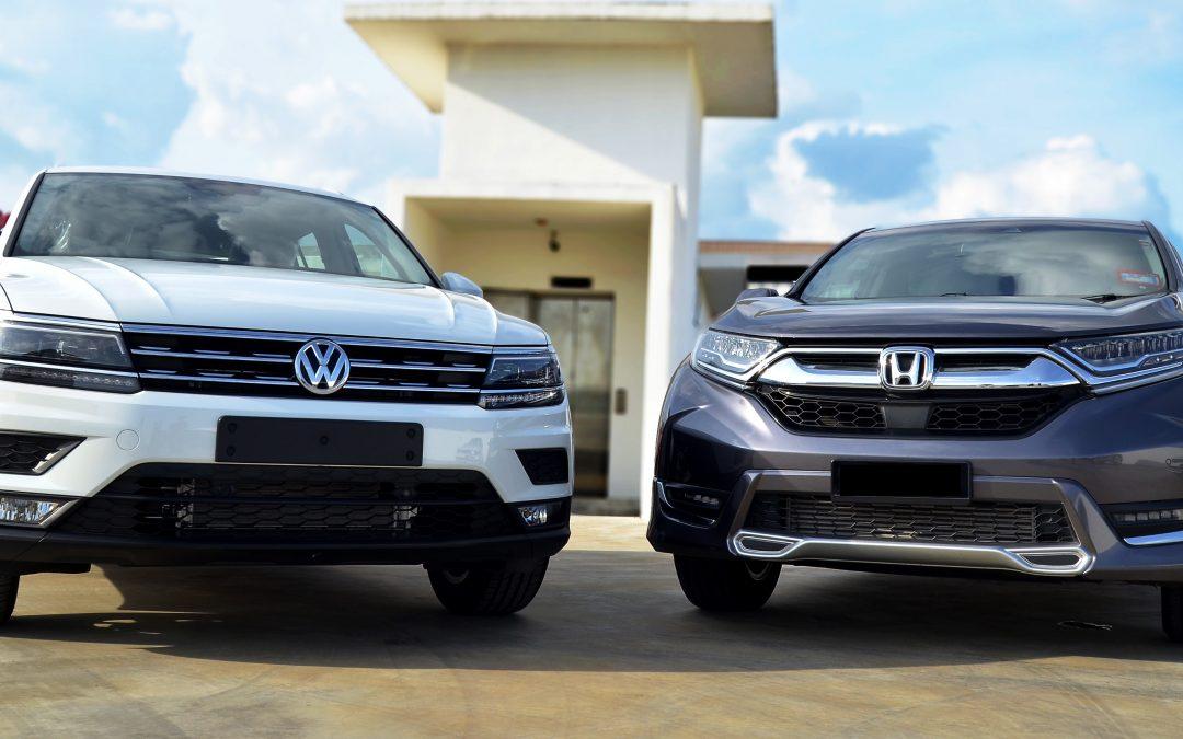 Car Review – CRV versus The Tiguan.