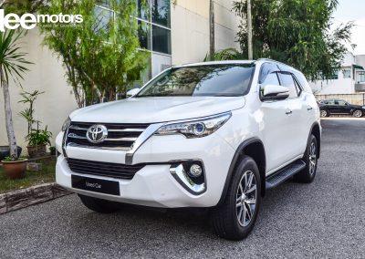 2016 Toyota FORTUNER 2.7 V ENHANCED (A)