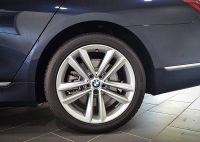 BMW 740 Le BLUE (2)