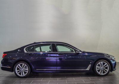 BMW 740 Le BLUE (4)