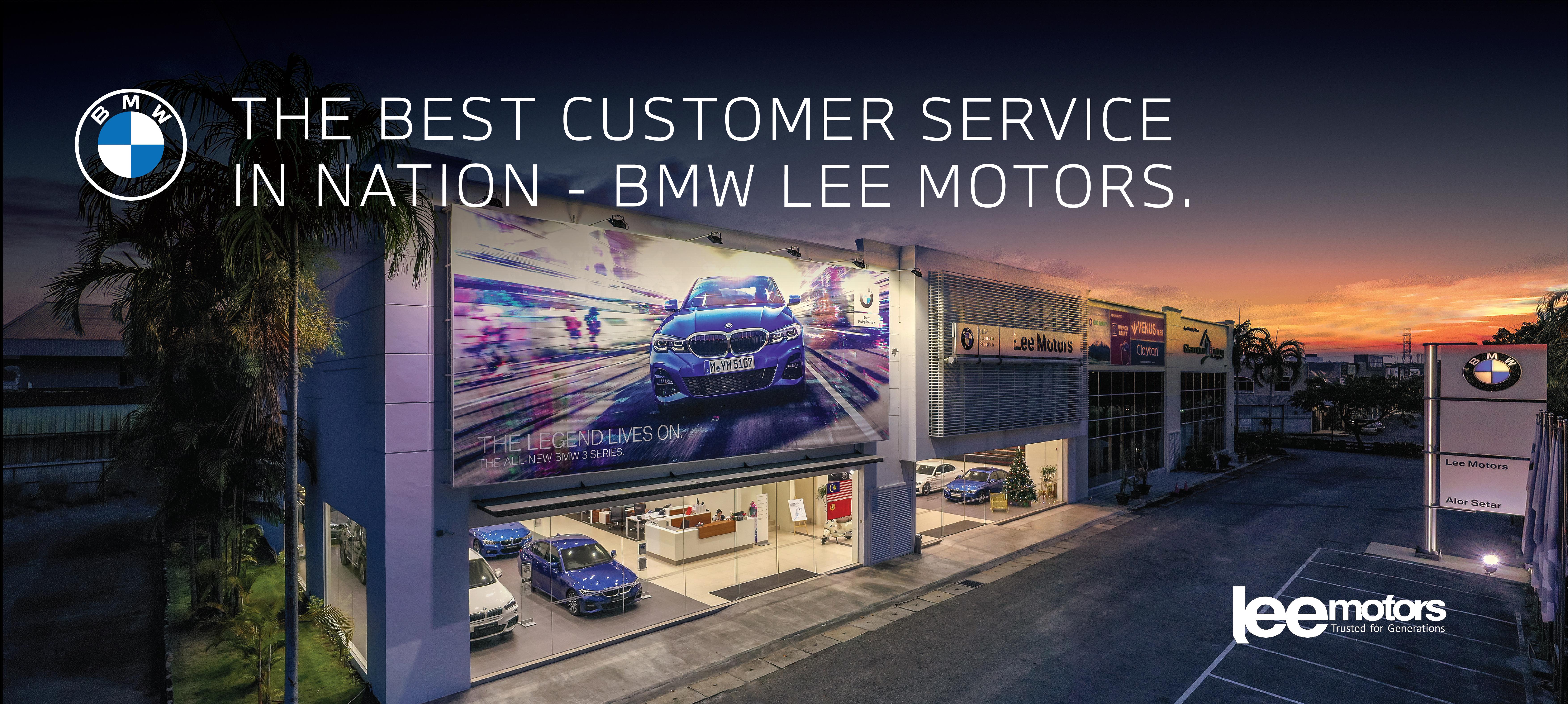BMW Lee Motors Best Customer Service
