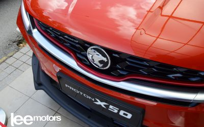 Book Test Drive Proton X50 Today.
