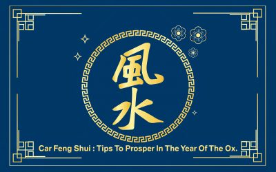 Absorb positive energy into your car by following the basic Feng Shui tips.