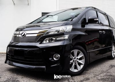 2012 Toyota Vellfire 2.4